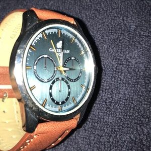 Caribbean Leather Watch